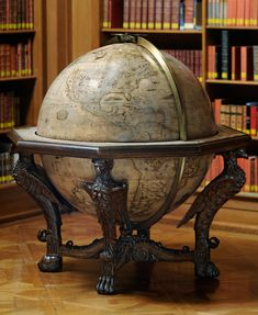 Famous cartographer Vincenzo Coronelli died in Coronelli was well known for his atlases and globes. This 'Globe' will be on loan from the bibliothequeBNF to the Louvre Abu Dhabi.