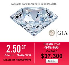 Super Sale, let come and get one via HungPhatUSA.com #diamond #engagementring #weddingband #jewelry #menring #womenring #18Kwhitegoldengagementring #hungphatusa