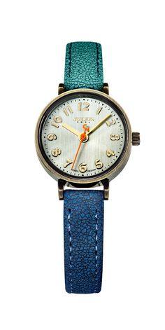 Julius Watch JA-855C Fashion Watch Women`s Leather Strap Watch