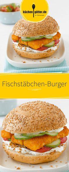 Auf der Suche nach einer neuen Burger-Idee? Versucht es doch einmal mit Fischstäbchen auf dem Pattie.