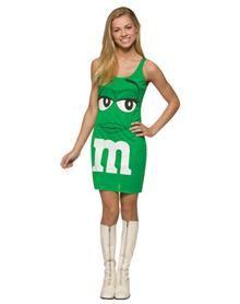 M's Green Tank Dress Tween Costume