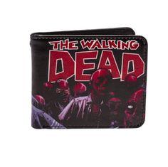 The Walking Dead Rock Rebel Zombies Wallet @ niftywarehouse.com