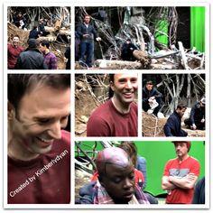 Sebastian ✪ Stan & Chris Evans Created by Kimberlydyan Marvel Memes, Marvel Dc, Steve Rogers Bucky Barnes, Funny Me, Sebastian Stan, Chris Evans, Actors & Actresses, Avengers, It Cast