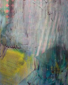 Chris Trueman  Trace 60 x 48 inches #acrylic and #spraypaint on canvas #contemporary #abstract #painting
