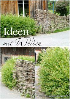AuBergewohnlich Ein Schweizer Garten: Weiden   Von Pavillons Und Flechtereien.