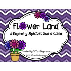 Flower Land A Beginning Alphabet Game