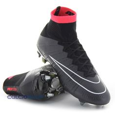 cheap for discount 665f8 ab1d3 NIKE - MERCURIAL SUPERFLY SG-PRO BLACK Cool Nikes, Nike Stuff, Superfly,