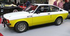 Opel Kadett C Coupe GTE 1978 bicolor vl
