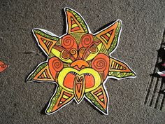 gretchen's art blog: The sun, 'Ra'