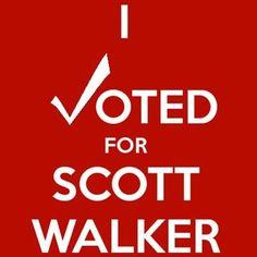 Scott Walker WINS!!