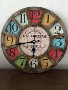 Diy And Crafts Sewing, Crafts For Girls, Crafts To Sell, Outdoor Christmas, Simple Christmas, Stick Art, Diy Clock, Wooden Clock, Craft Videos
