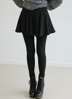 grunge • black •sweater weather •tumblr fashion •teen style •cute clothes •winter outfit •cold weather •autumn fall