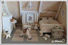 child's bedroom / Maria's Miniatures: Dollhouse Välitalo