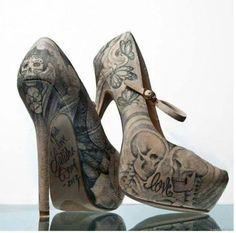 #Heels #Skull #Love