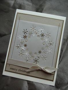 Karte ~ Snowflake Burst ~