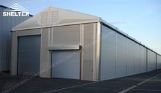 Our durable tent warehouse buildings are the insulated structures for warehousing, logistics storage, agriculture stock, and even manufacturing factory.
