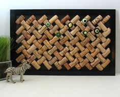 trellis bulletin board with button push-pins