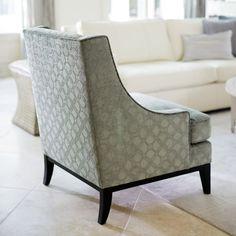 lancaster Chair | Bernhardt in that light fabric??