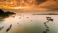 The Orange Bay in Dungun Terengganu Malaysia. Photo taken by Ahmad Fahmi