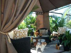 "Indoor/Outdoor Patio Drapes.. Brown..Beach Burlap..Price Includes (2) Panels..(Each Panel 54""wide x 84""Long) Patio Pizazz,http://www.amazon.com/dp/B00I3JC23I/ref=cm_sw_r_pi_dp_iCcntb1MHXWDH8EB"