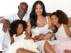 Kimora Lee Simmons & family