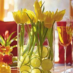 limoni e tulipani....una coppia perfetta