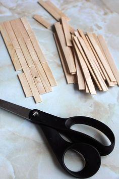 Miss CutiePie - Inspiration: Dockhus renovering - Lägg ett trägolv av glasspinnar