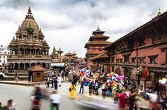 Durbar Square in Patan, is probably the most heaving, alive UNESCO World Heritage sites there is. And we are not just talking crowds of tourists. This is a functioning town square with shops and homes and tourists jostling for space with Patan residents going about their day. The square is the site of many ancient stupas and temples where everyone from the Beatles to Jimi Hendrix came to meditate and smoke pot. #kathmandu #bhaktapur #nepal #colours #history #heritage #architecture #travel…