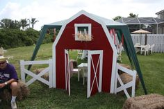 Farm/Barnyard Birthday Party Ideas | Photo 1 of 12 | Catch My Party