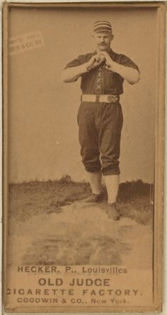 List of Louisville Colonels Opening Day starting pitchers Casey At The Bat, Opening Day, The Past, Baseball Cards, Guys, Sports, Vintage, Play, Google Search