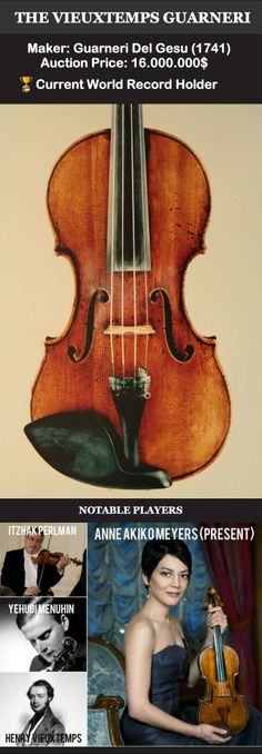 These Are The 12 Most Expensive Violins Of All Time