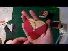 Valentine / wedding heart punch couple - YouTube