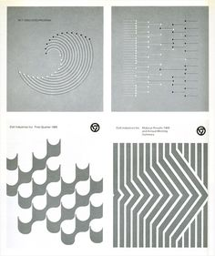Dietmar R. Winkler (top), MIT booklets / Arnold Saks (bottom), Business reports for Colt Industries; in Graphis Annual 1971-1972