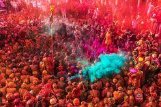Colour of Barsana #Holi #Photography