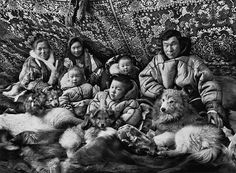 Sebastian Salgado' Genesis project. This photo was shot in Siberia with the Nenet people