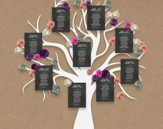 Wedding table plan printable chalkboard seating plan, DIY seating chart wedding Ideas, edit in Word, print trim and pin on your board by ConnieAndJoan on Etsy