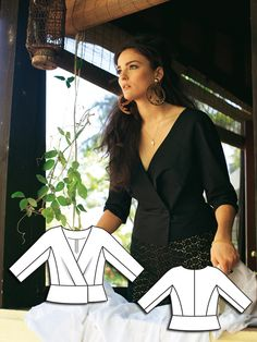 Read the article 'Screen Siren: 8 Sexy Plus Size Sewing Patterns' in the BurdaStyle blog 'Daily Thread'.