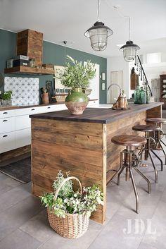 Scandinavian Kitchen Concepts (Execs, Cons and Decor Concepts) Home Decor Kitchen, Scandinavian Kitchen, Repurposed Furniture Diy, Scandinavian Kitchen Design, Kitchen Remodel, Kitchen Decor, Kitchen On A Budget, Home Kitchens, Kitchen Design