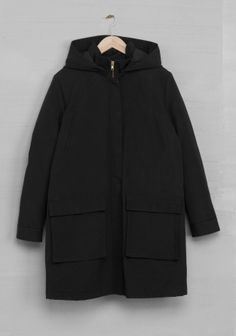 Cotton Blend Coat - & Other Stories