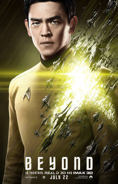 Star Trek Beyond Poster - Sulu