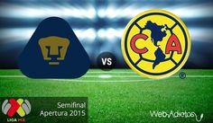 Pumas vs América, Semifinal del Apertura 2015 ¡En vivo por internet! - http://webadictos.com/2015/12/06/pumas-vs-america-semifinal-a2015-vuelta/?utm_source=PN&utm_medium=Pinterest&utm_campaign=PN%2Bposts