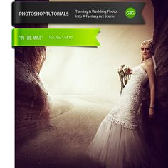 Turning A Wedding Photo Into A Fantasy Art Scene – Photoshop Tutorials