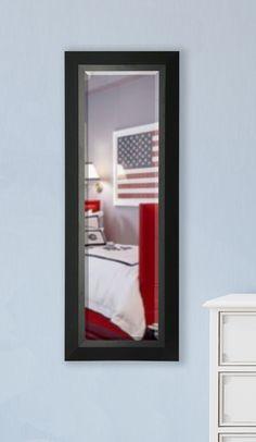Jovie Jane Slender Body Beveled Wall Mirror