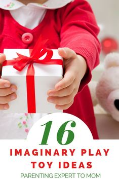 16 Toys for Toddlers That Will Encourage Imaginary Play Skills, Christmas gifts your child will love! These fun toddler toys inspire creativity and imaginary play. Make sure to add these kid toy ideas to yo. Christmas Activities For Toddlers, Toddler Christmas Gifts, Educational Toys For Toddlers, Christmas Mom, Toddler Activities, Christmas Ideas, Best Toddler Toys, Toddler Gifts, Toys For Boys