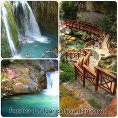Zonas de Baño en plena naturaleza, Comunidad Valenciana