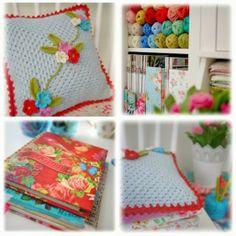 Mary Jane's TEAROOM: Crochet pillow