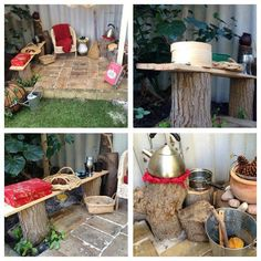 """Lovely mud kitchen at Elite Childcare Solutions & Elite Family Day Care ("""",)"""