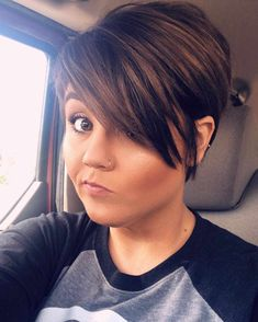Latest Short Hairstyles For Women 2019 - bobhair Hair haircuts hairstyle Hairstyles Pixie pixiehair shorthair shorthaircut - Short Hairstyles - Hairstyles 2019 shorthairstylesforthickhair 724024077579726277 Latest Short Hairstyles, Short Hairstyles For Thick Hair, Cute Short Haircuts, Long Hair Cuts, Bob Hairstyles, Curly Hair Styles, Curly Short, Short Hair Cuts For Women Over 40, Pixie Haircut For Round Faces
