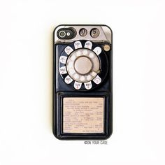 An iPhone case with retro flair.