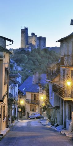 Najac, France, one of the 15 most beautiful villages in Europe